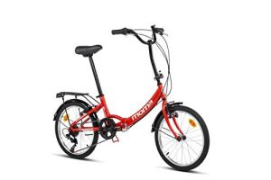 Moma Bikes First Class II Red Vélo Pliant Adulte Unisexe, Rouge, Unic Size