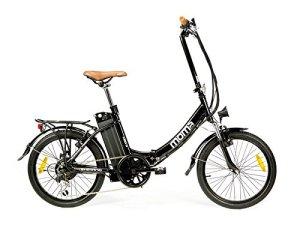 Moma Bikes Vélo Electrique Pliant De ville, E-20, Aluminium, SHIMANO 7V, Bat. Ion Lithium 36V 16Ah