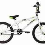 KS Cycling 593B Hedonic Vélo BMX Freestyle 20″ Blanc