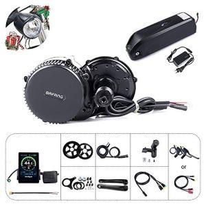 Bafang vélo électrique à Moteur Central BBS02B de Conversion 48V 750W Kit composant Ebike ou Kit avec Moteur Central à Hailong Batterie 48V 11.6/17.5Ah / 52V 14Ah / Batterie de Porte-Bagages