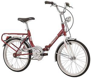 Vélo pliant Cinzia Firenze 20″., Homme, 8033389461195, rouge, 20 inches
