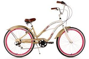 KS Cycling Vélo cruiser Rose 26″