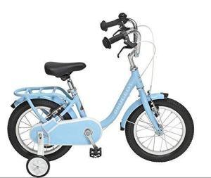 PEUGEOT Velo 14″ Enfant Legend stabilisateur Bleu Retro Vintage Child Bike