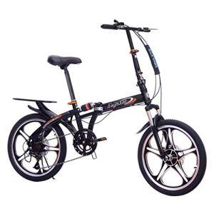 YANXIH 20 Pouces Vélo Pliant Frein À Double Disque Vitesse Variable Commuer Vélo Pliant De Voyage Adulte Vélo De Route