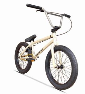 ZTBXQ Fitness Sports Outdoors Freestyle 20 Pouces Vélo BMX avec Absorption des Chocs Performance Frame-8-Key 3-Section Crank-25-Tooth Steel Plateau – Rapport de Transmission 25 à 9