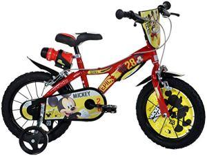 Dinobikes Boys Vélo pour Enfant Rouge 14″