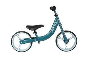 Hudora 10417/00 Classic Vélo pour Enfant avec Roues Extra Larges 12″ à partir de 3 Ans Selle et Guidon réglables en Hauteur Bleu