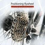 LWZ 24 Pouces Roue VTT vélo 21 Vitesses Double Frein à Disque Semi-Rigide Absorption des Chocs VTT vélos de Route pour Hommes et Femmes