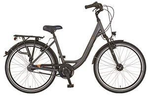 Prophete Genieser 20.BMC.10 Vélo de Ville 26″ pour Femme Anthracite RH 45