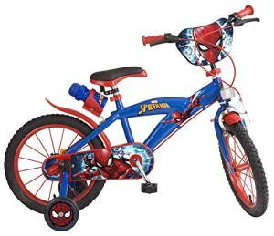 Toimsa – 876 – Vélo pour Enfant – Spiderman – Garçon – 16″ – 5 à 8 ans