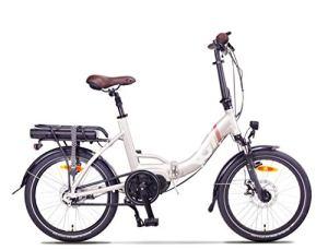 VG Bikes Vélo électrique pliant 20' BRIGHTON (moteur central) 14Ah