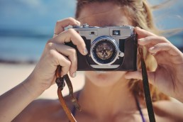 Photography vintage camera