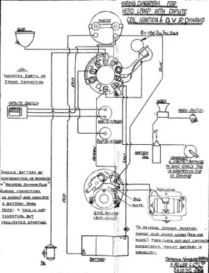 Electrics Wiring Diagrams | The Velocette Owners Club