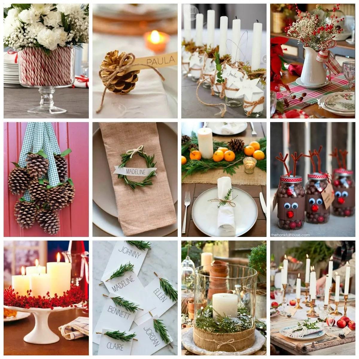 Ideas de decoracin para Navidad  Velocidad Cuchara
