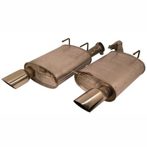 2011 mustang gt svt muffler kit