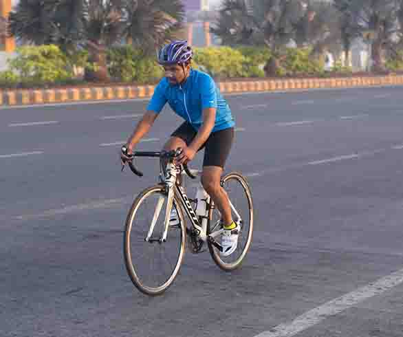 100 Km Cycling