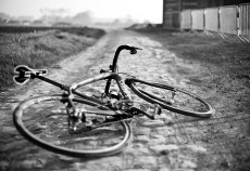 Specialized Roubaix on the cobbles of Roubaix