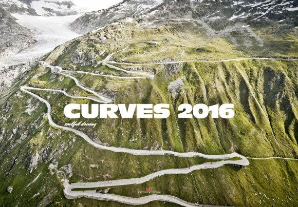Das Titelbild des «Curves»-Kalenders 2016 zeigt den Furka-Pass.