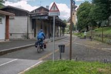 Die alte Bahnstation in Tarvisio,. | © 2018 Dominik Thali