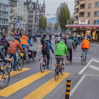 Luzern, 13. April 2019, Critical Mass | © 2019 Dominik Thali