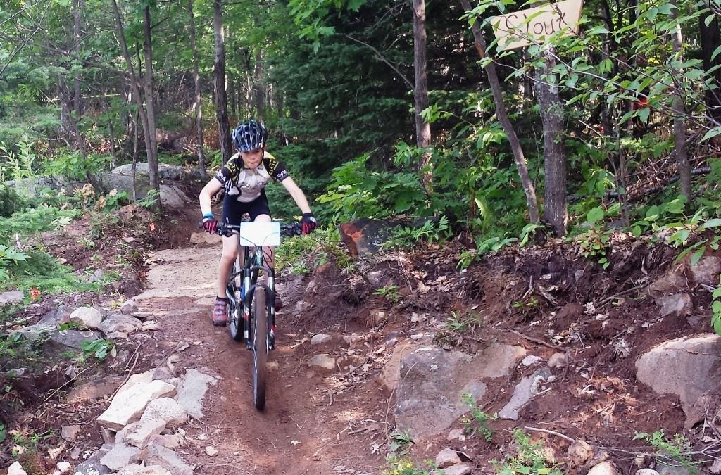 Camp de vélo de montagne