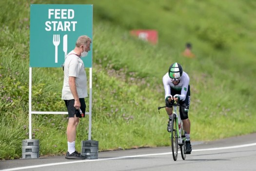 Tokyo Olympics: German sport director sent home for racist comments during men's time trial