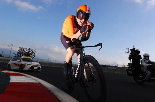 Tokyo Olympics: Time trial silver as good as gold for Tom Dumoulin