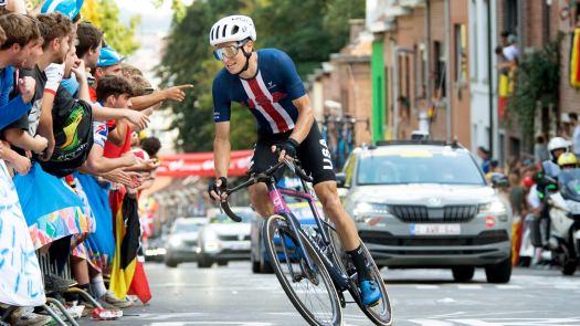 Power analysis: Elite men's world championship road race