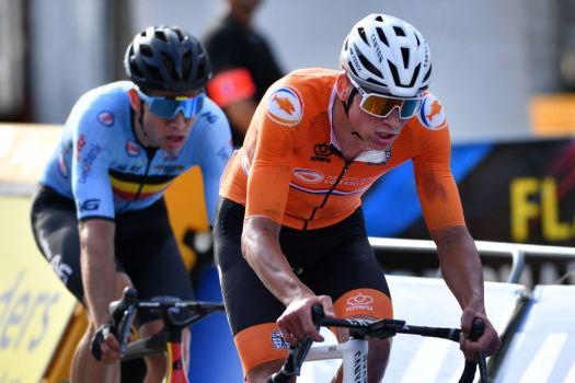Mathieu van der Poel optimistic about Paris-Roubaix after back pain-free worlds race