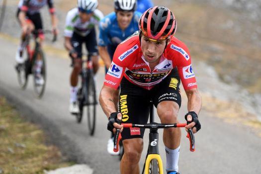 Vuelta a España: Primož Roglič takes big step toward third GC win but remains tentative
