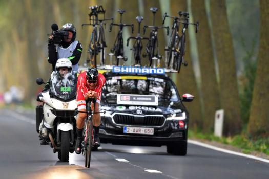 World championships: Kasper Asgreen spurred on by thoughts of Chris Anker Sørensen in TT