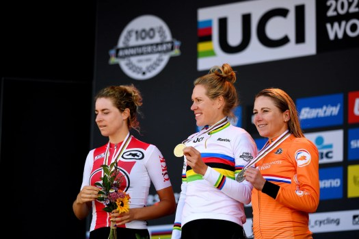 Road world championships: What Ellen van Dijk, Amber Neben, and others said after another Dutch time trial victory