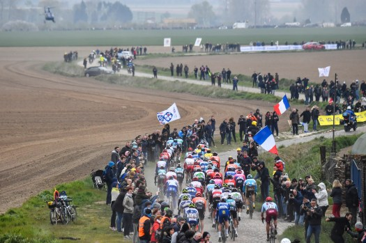 Live ticker Paris-Roubaix: Overnight rain heightens tension at start in first 'wet' edition in a generation
