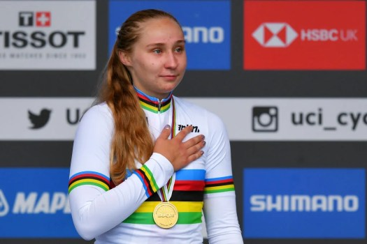 Megan Jastrab wants a women's U23 worlds category, but only if it's a separate race