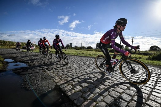 Christine Majerus on Paris-Roubaix Femmes: