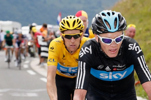 Bradley Wiggins regrets fall out with Chris Froome after 2012 Tour de France