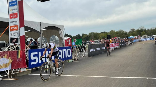 Lucinda Brand rides to Fayetteville World Cup win
