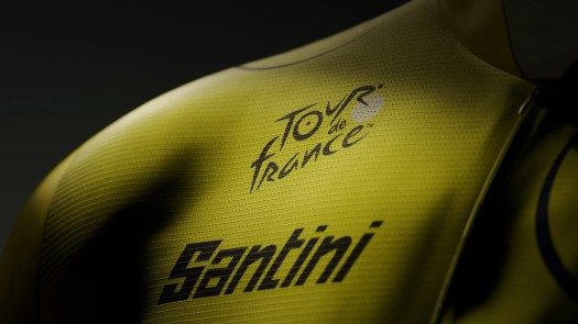 Santini pens five-year deal as yellow jersey supplier at Tour de France
