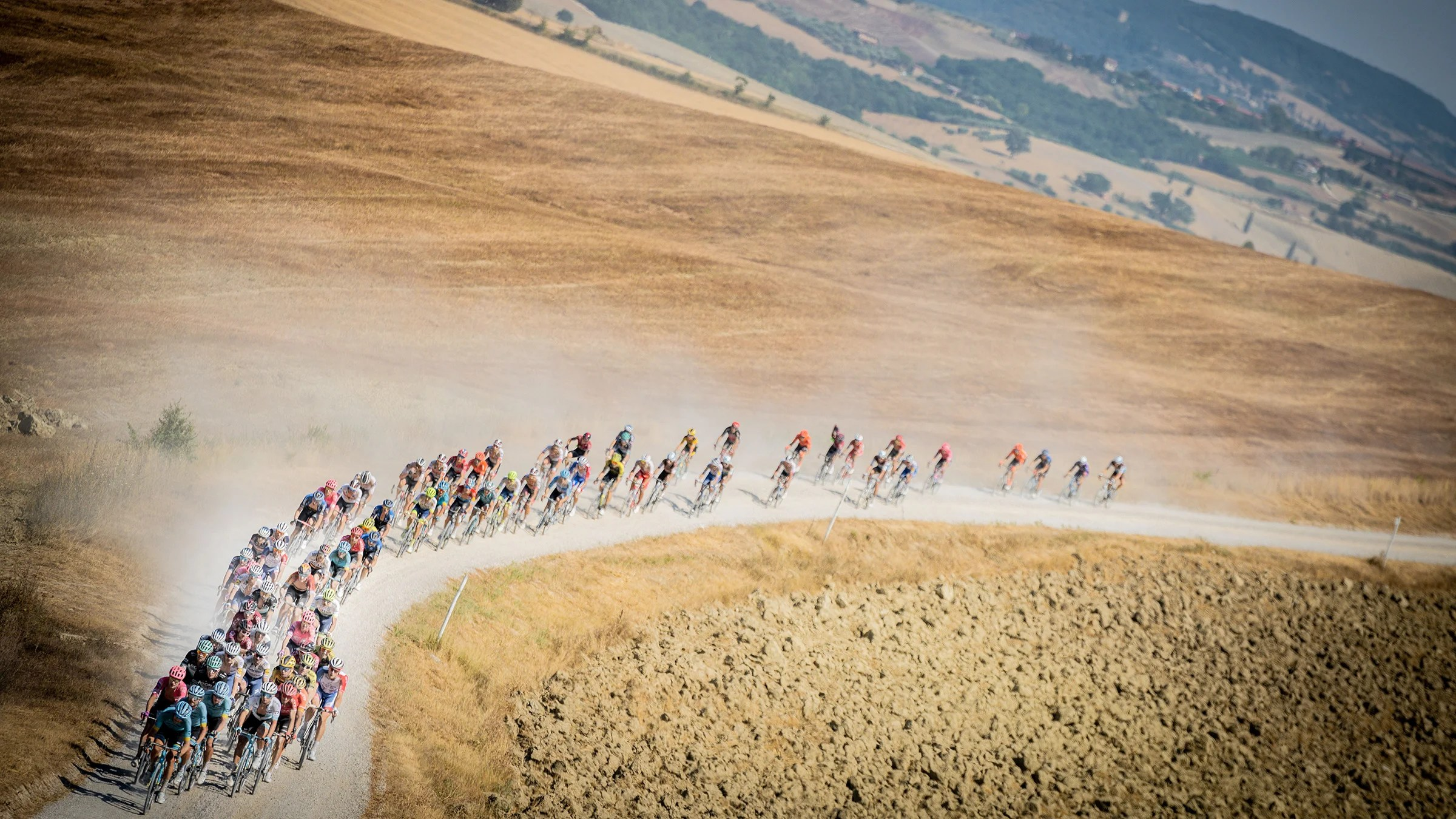 Ask The Dust On The Ground At Strade Bianche Velonews