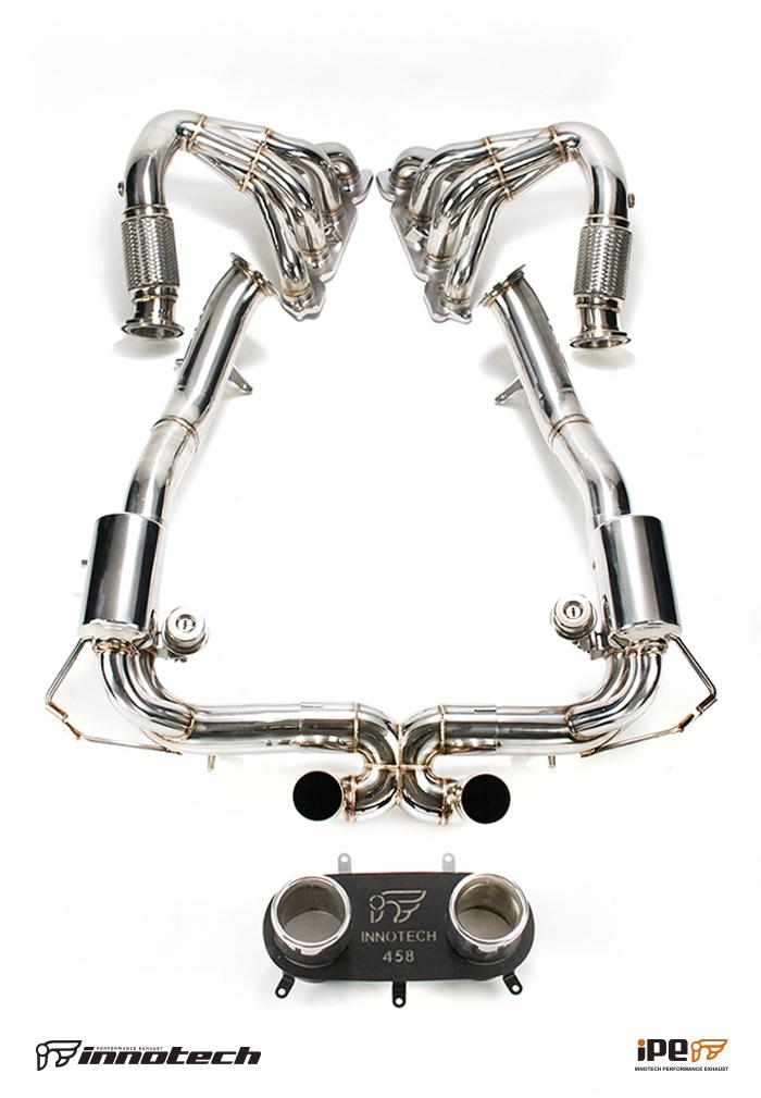 ferrari 458 italia ipe f1 performance exhaust