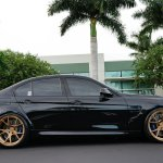 Sapphire Black F80 M3 On Velos S3 Forged Wheels Velos Designwerks Forged Wheels Ecu Tuning