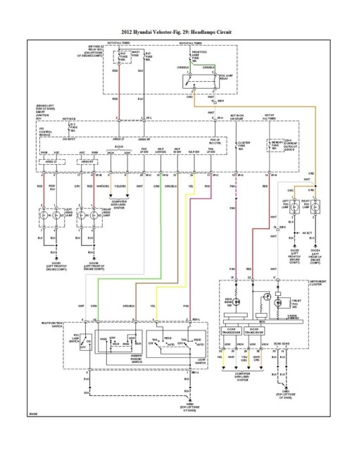 small resolution of headlight wiring plug diagram santa fe fuse box diagram 2012 exterior lights wiring diagram 2006 hyundai