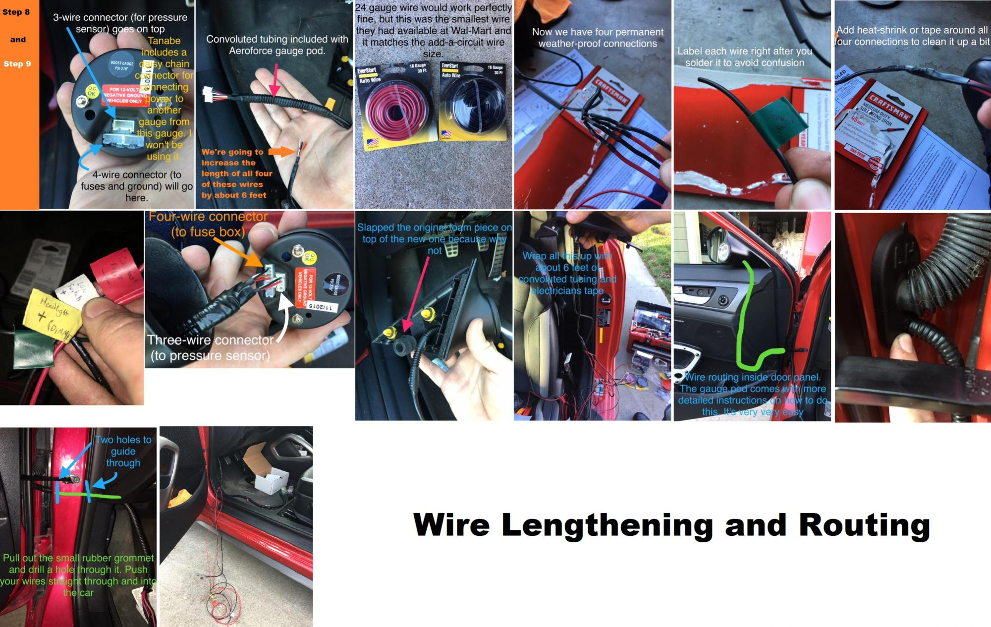hight resolution of name 3 wire lengthening and routing jpg views 1186 size 712 5