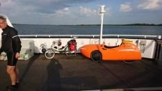 Strada og liggecykel Hals-Egense færgen