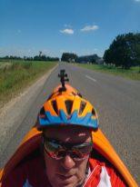 Jeg Koger i varmen nær Plumieux :-)