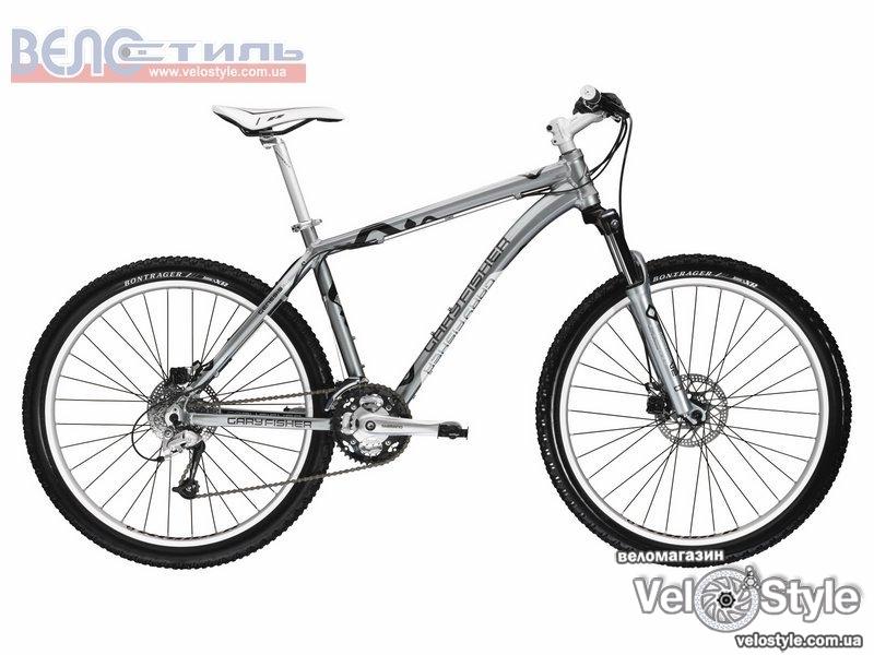 Велосипед Gary Fisher WAHOO DISC 2009 серый 126182