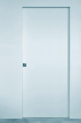 Porte invisibili filo muro scorrevole o battente  VELOSYSTEM