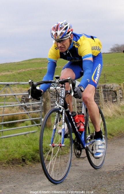 Veteran Andy Mathieson rode a great race today.
