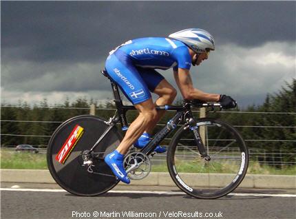 Despite the most aero position of anyone, Carlos didn't score a podium today.