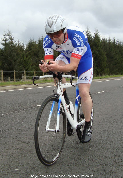 Roadman Paul does his first time trial for years.